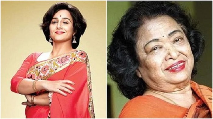Vidya Balan and the real Shakuntala Devi