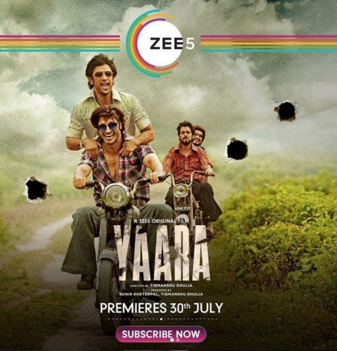 Yaara teaser: Vidyut Jammwal and Amit Sadh brings the story of an adventure of a lifetime between four friends