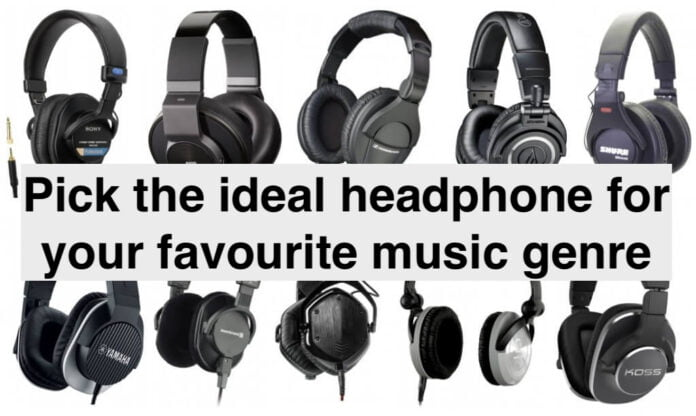 ideal headphone for Rock Pop Electronic Jazz Classical music