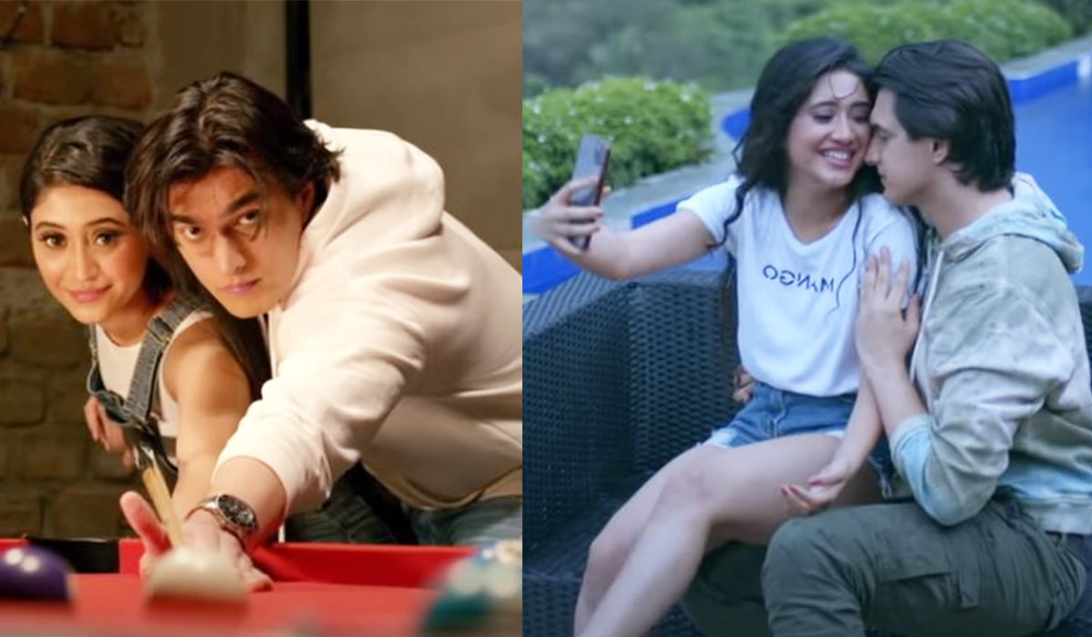 Baarish Song out now Shivangi Joshi and Mohsin Khan's sizzling Kaira' s chemistry in this monsoon romantic song