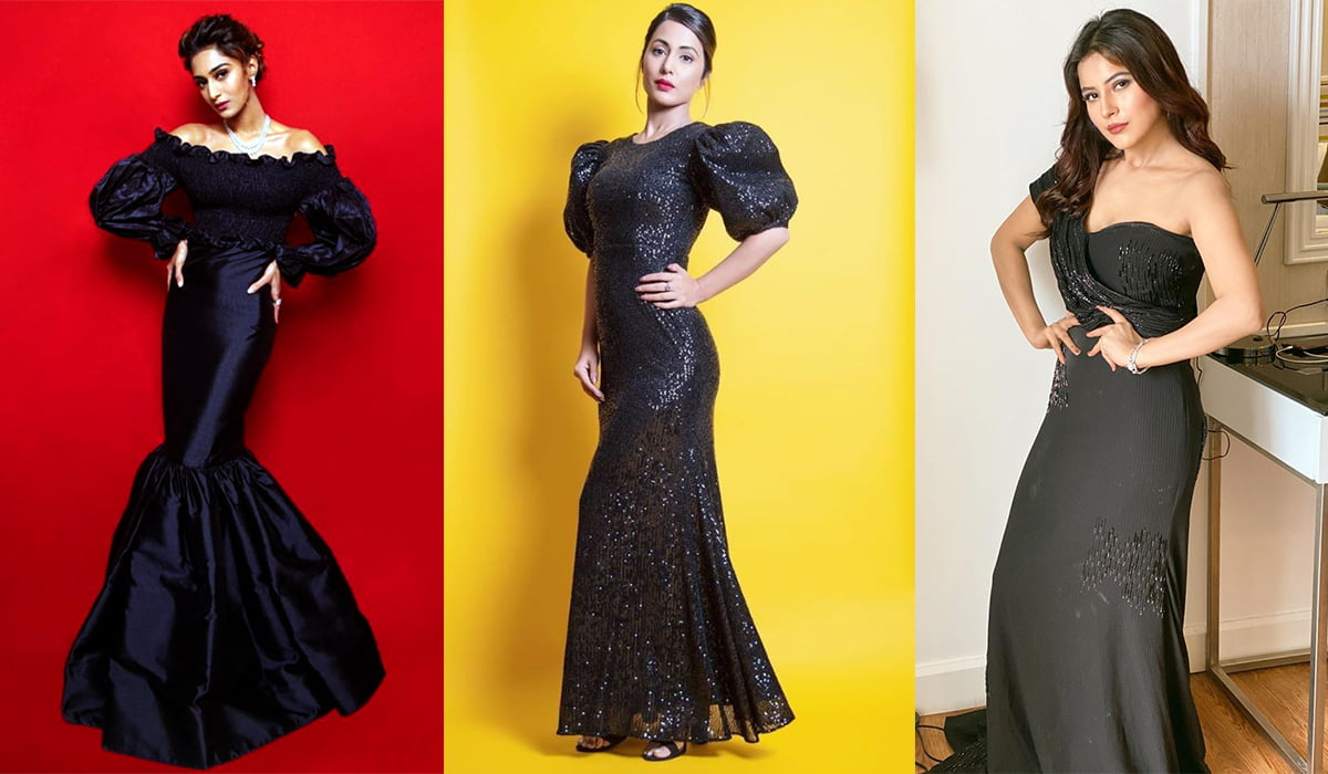 Erica Fernandes, Hina Khan, Shehnaaz Gill and other celebs show you how to wear everything in black