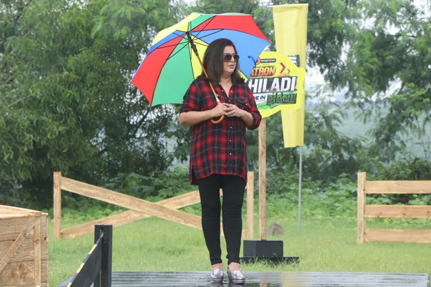 Farah Khan flags off the excitement in style on Khatron Ke Khiladi Made in India
