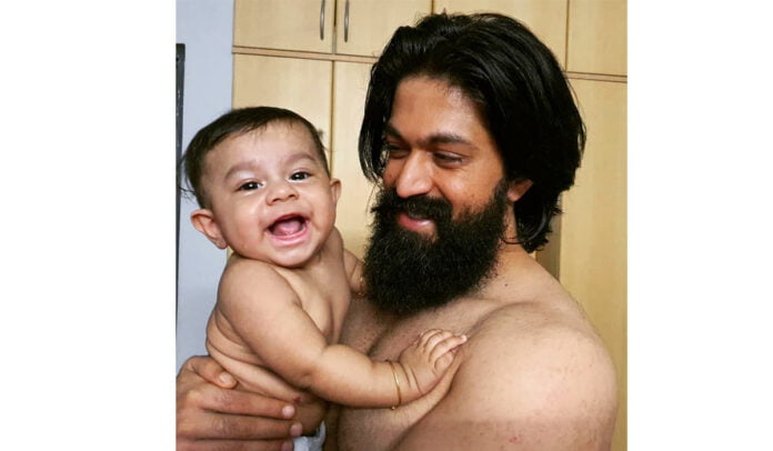 KGF star Yash' wife Radhika Pandit shares an adorable picture of their newborn