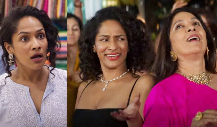 Masaba Masaba Dialogues Real life mom-daughter duo Neena-Masaba Gupta play their own version and their funny dialogues is a treat to watch