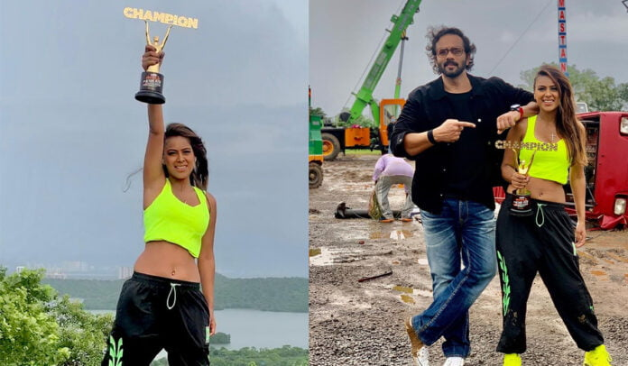 Nia Sharma wins Khatron Ke Khiladi Made In India