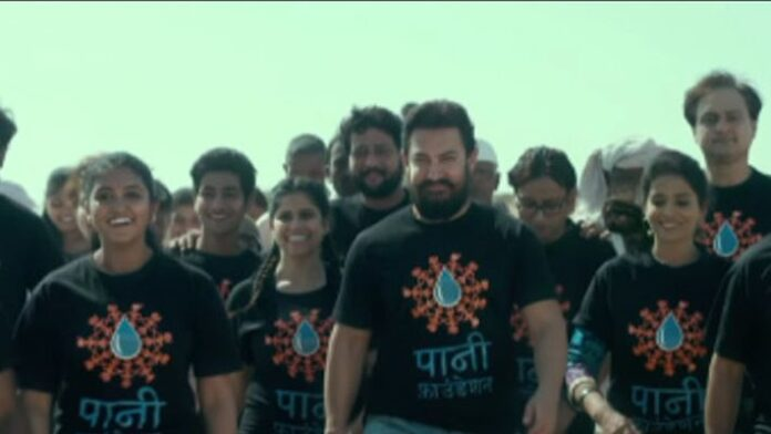 Aamir Khan is overwhelmed with pride and the reason for it is Paani Foundation's recent achievement.