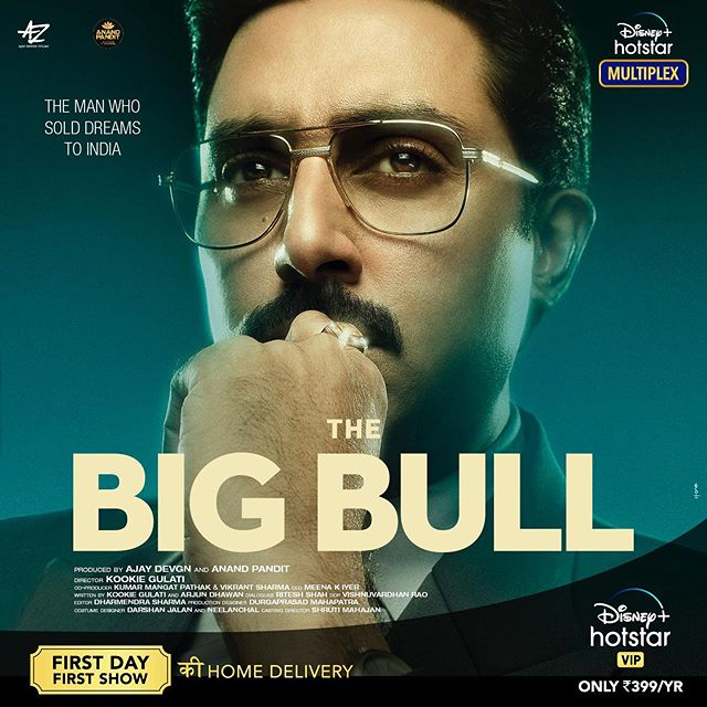 Abhishek Bachchan in Anand Pandit's The Big Bull