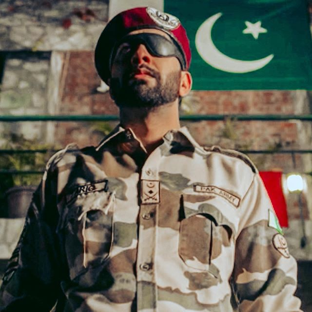 Ankur Bhatia Playing Pakistani Army Chief in Crackdown