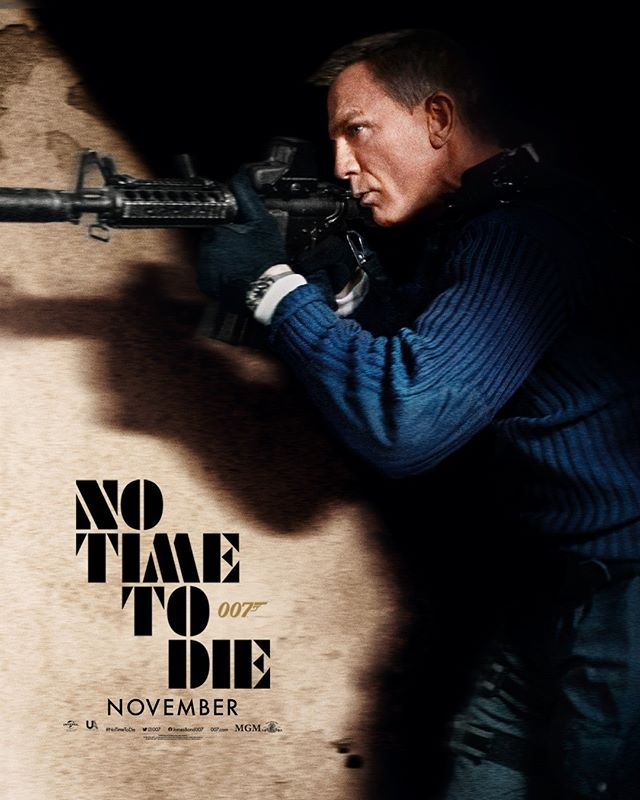 Daniel Craig in 'No Time To Die' new poster