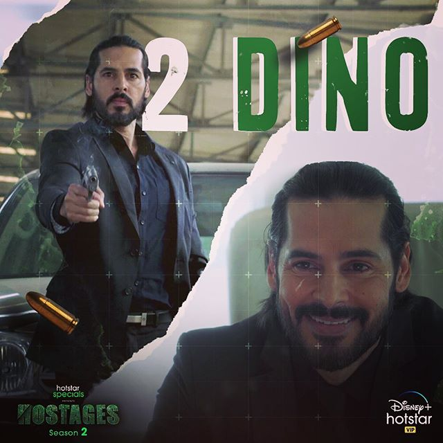 Dino Morea in Hostages