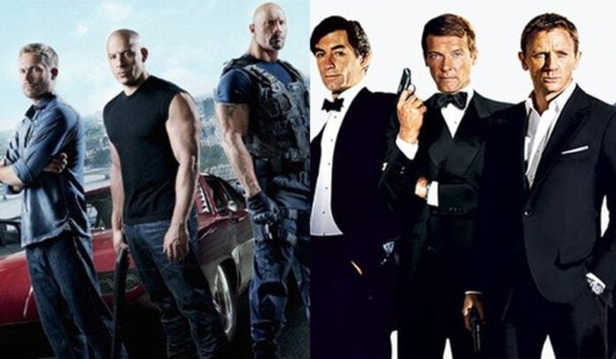 From Fast and Furious to James Bond these 5 long-running film franchises that we simply cannot get enough of