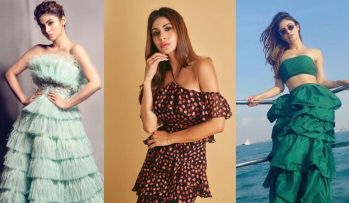 Happy Birthday Mouni Roy's off shoulder dress will make you drool