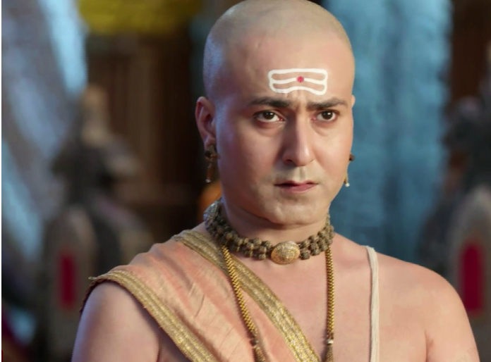 How will Pandit Rama Krishna prove his innocence and save Vijayanagar from being traded