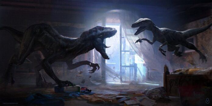 'Jurassic World: Dominion' set photos tease a new horrifying dinosaur