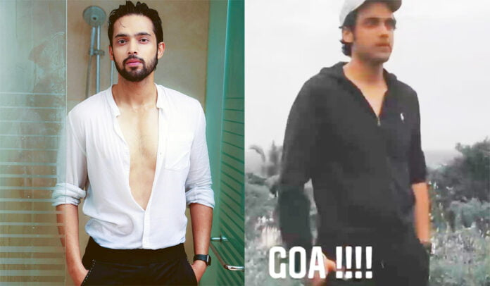 Kasautii Zindagii Kay's Parth Samthaan takes a break and jets off to Goa for vacation