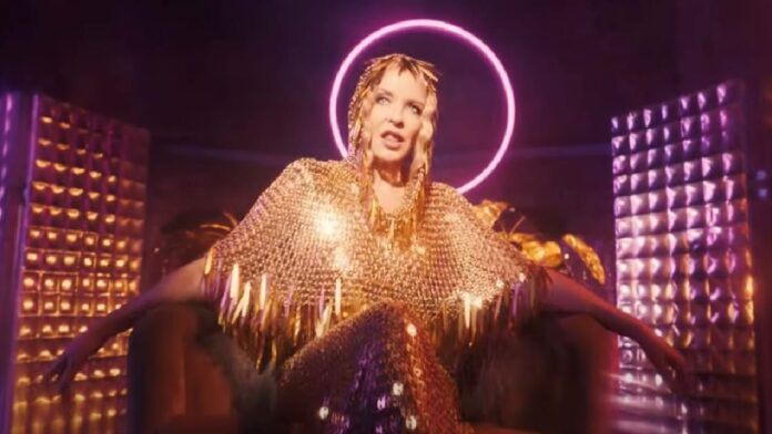 Kylie Minogue releases glittery new single 'Magic'