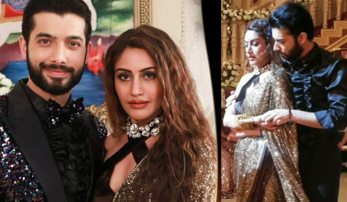 Naagin 5 Sharad Malhotra and Surbhi Chandna's BTS romantic dance picture in the upcoming episode, fans waiting for VAni romance