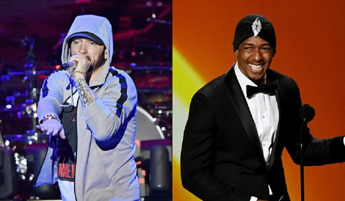 Nick Cannon hopes to end decade long beef with Eminem