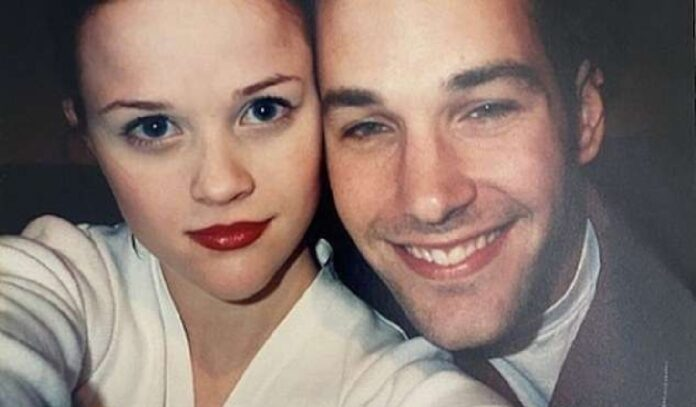 Reese Witherspoon and Paul Rudd's rare 90s selfie sends fans into a frenzy