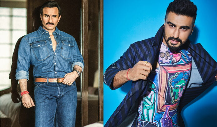 Saif Ali Khan and Arjun Kapoor join the cast of spooky adventure film 'Bhoot Police