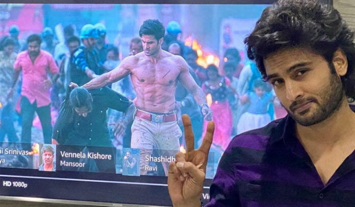 Sudheer Babu's jaw-dropping opening action sequence in the film 'V'