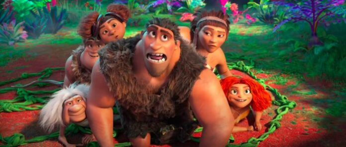 THE CROODS A New Age trailer shows stone age laugh