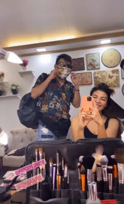 Jacqueline Fernandez is all smiles as she resumes work