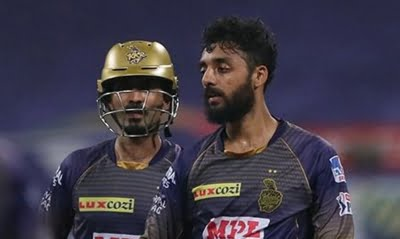 'Fairytale continues': Chakravarthy takes tips from MS post CSK-KKR game