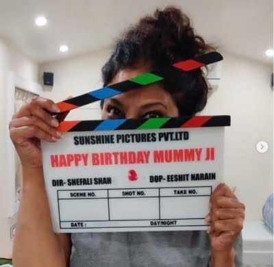 Shefali Shah's second directorial venture goes on floors