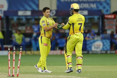 CSK's death over masterclass restricts KKR to 167