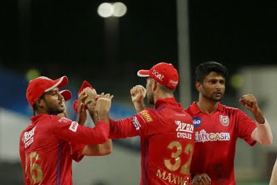 KXIP defend target of 127 to beat SRH by 12 runs