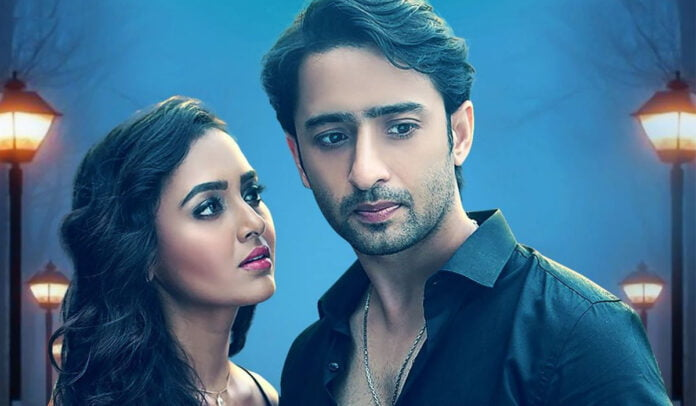 Ae Mere Dil poster Shaheer Sheikh and Tejasswi Prakash's look sizzling hot as a couple