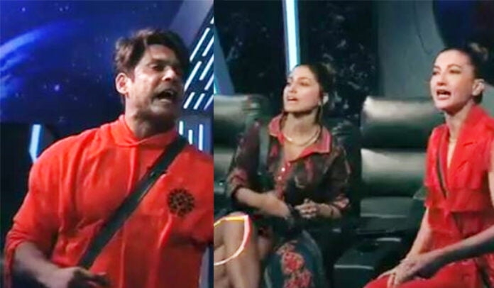Bigg Boss 14 Sidharth Shukla feels Hina Khan and Gauahar Khan cheated in the task. Which team do you think is right