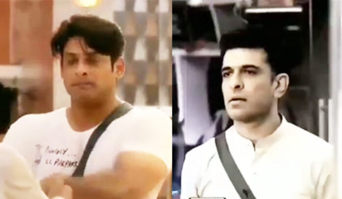 Bigg Boss 14 promo Sidharth Shukla and Eijaz Khan get into heated argument over a task