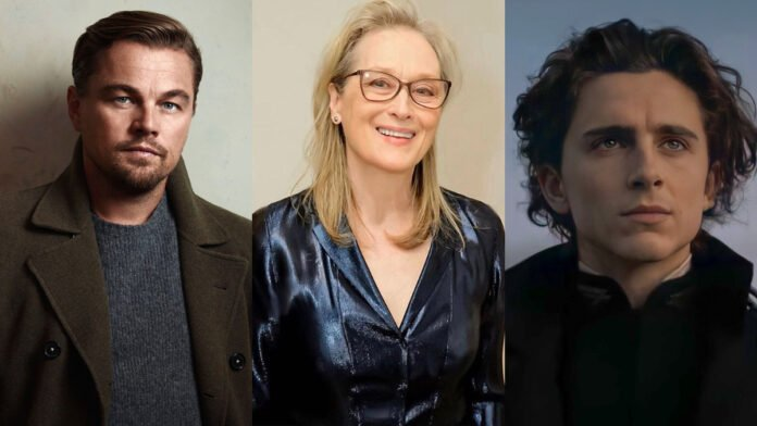 Don't Look Up Leonardo DiCaprio, Meryl Streep, Timothee Chalamet to feature in new Netflix comedy