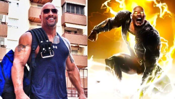 Dwayne Johnson teases fans with new update on 'Black Adam'