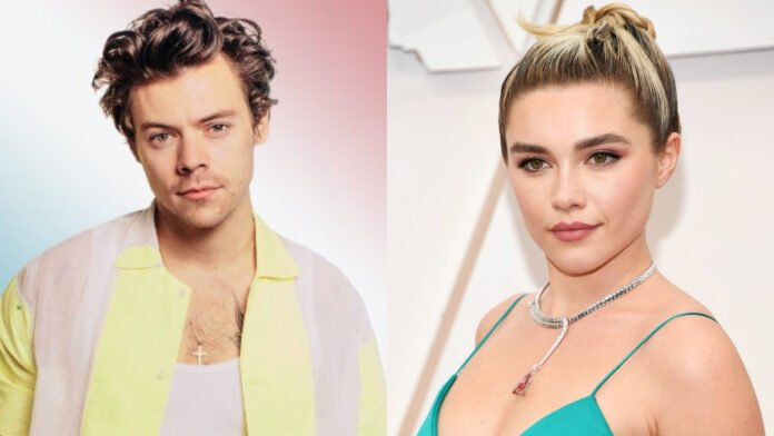 Harry Styles meets up with 'Don't Worry Darling' costar Florence Pugh in LA
