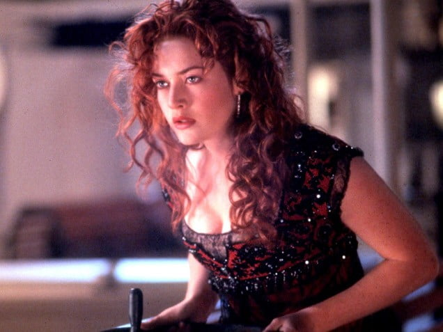 Kate Winslet from Titanic