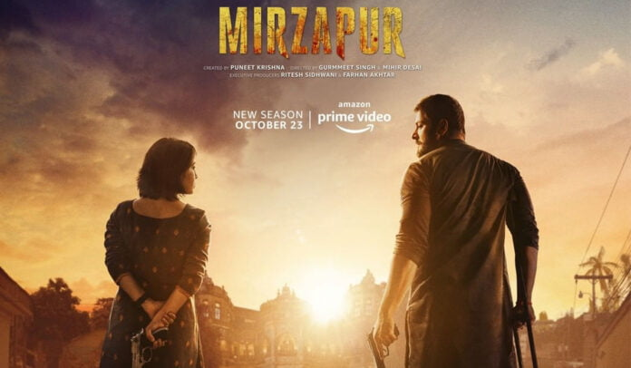 Mirzapur leading the content race gets a solo release for Season 2