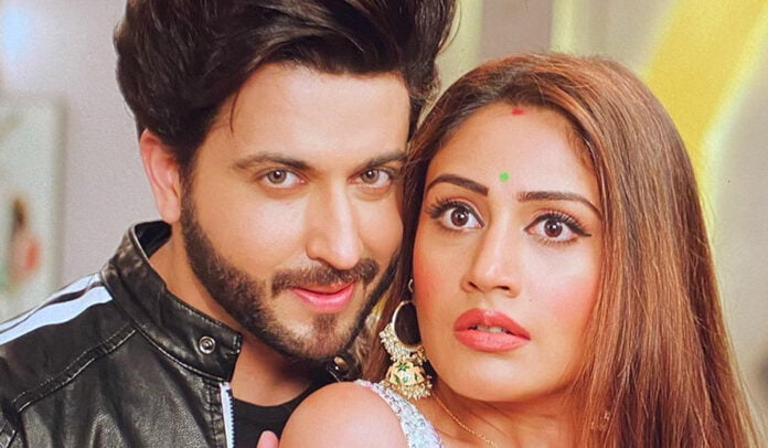 Naagin 5 Surbhi Chandna shares a BTS picture with Dheeraj Dhoopar and is confused she is stuck in Satyug or Kalyug