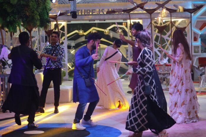 Navratri Vibes in full force inside the Bigg Boss House
