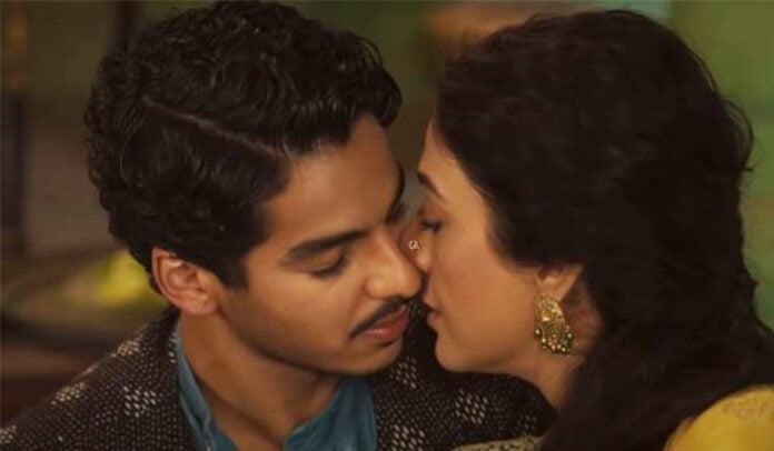 Netflix A Suitable Boy trailer Tabu and Ishaan Khatter's love story face challenges in the society