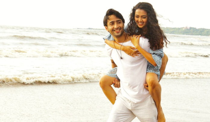 Shaheer Sheikh shares a BTS picture with Tejasswi Prakash from their upcoming music video