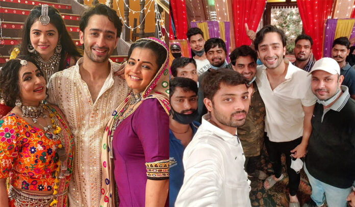 Yeh Rishtey Hain Pyaar Ke Shaheer Sheikh shares lovely pictures from the last day of shoot