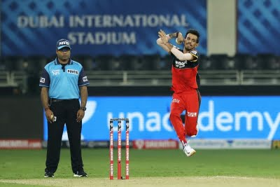IPL: Chahal now holds Purple Cap, Orange stays with Agarwal