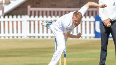 Leicestershire sign seamer Ed Barnes from Yorkshire