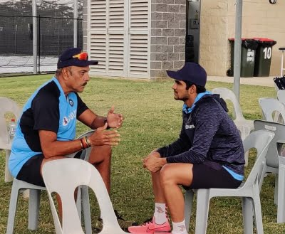 Shastri enjoys 'good conversation' about cricket with Gill ahead of Aus ODIs