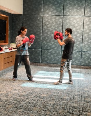 Kangana preps for 'Dhaakad' action even as she shoots for 'Thalaivi'