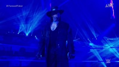 The Undertaker says final farewell to WWE Universe