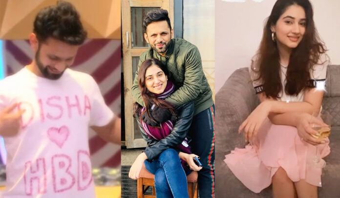 Bigg Boss 14 Disha Parmar reacts and blushes to Rahul Vaidya's marriage proposal